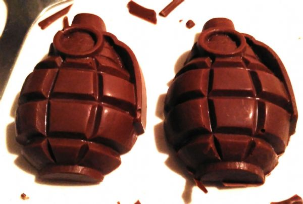 Chocolate grenades